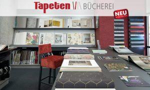 Tapetenbücherei in Kulmbach bei Geyer Farbe + Raum