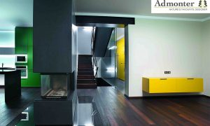 Admonter FLOORs Robinie dunkel classic Projekt Pragcopyright design by studio TEK TEK