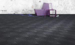 object carpet BlackArtVulcano 3